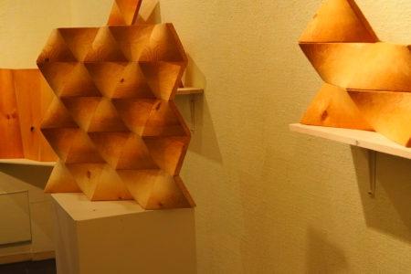 加藤義郎個展-幾何学/ズレ