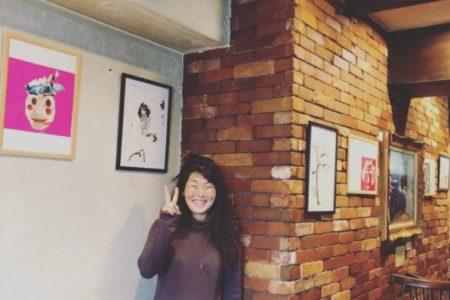今回、銭洲亭という素敵な場所で、初の絵本原画展!!